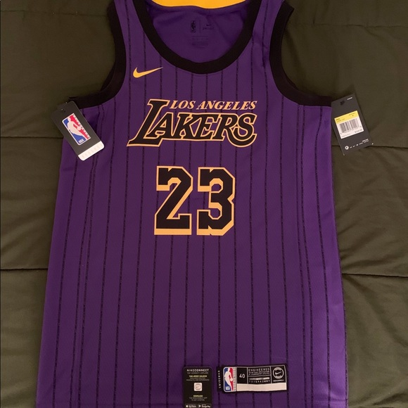 the best attitude 4df95 35d79 LA Lakers Lebron James Basketball Jersey🏀 NWT